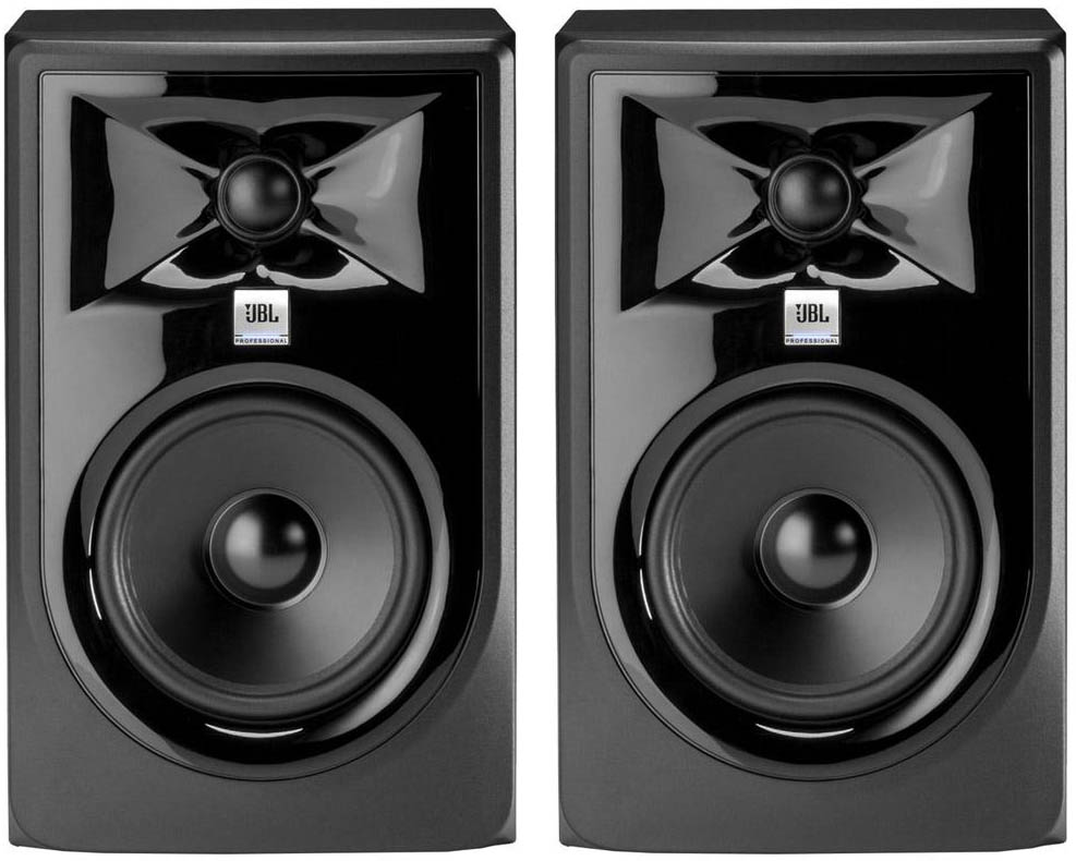 "JBL 305P MkII 5"" Studio Monitors"